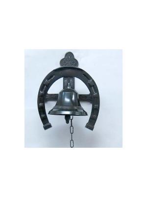 Колокол с подковой Морская удача Экспедиция. Цвет: черный