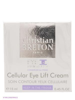 Крем для век лифтинговый Christian Breton, 15мл, Paris Breton. Цвет: белый