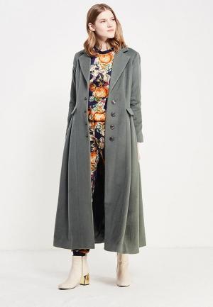 Пальто Demurya Collection. Цвет: зеленый