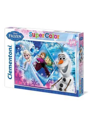 Итальянский пазл Clementoni. Серия Disney.Frozen. Удивительное приключение. 250 эл. Clementoni. Цвет: синий, белый, темно-фиолетовый