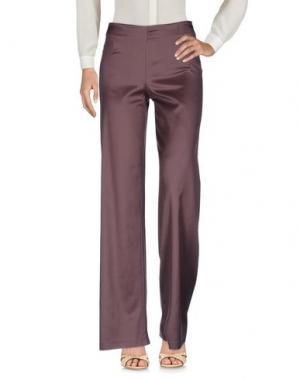Повседневные брюки LAVINIATURRA. Цвет: хаки