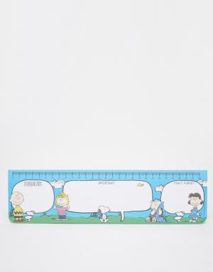 Peanuts Настольный блокнот. Цвет: мульти