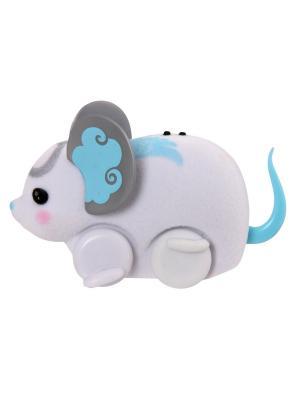 Интерактивная игрушка Little Live Pets Белая мышка в колесе Moose. Цвет: белый
