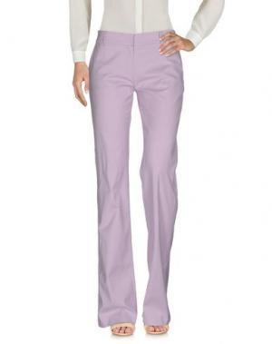 Повседневные брюки MAURIZIO PECORARO. Цвет: сиреневый