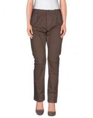 Повседневные брюки NAKED APE. Цвет: хаки