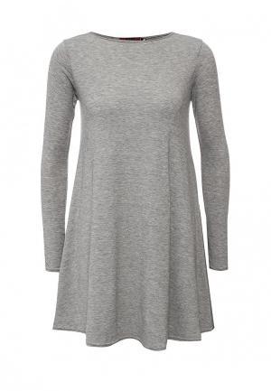 Платье Missi London. Цвет: серый
