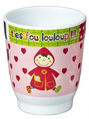 Чашечка Красная Шапочка Ebulobo. Цвет: бледно-розовый