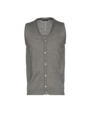 Кардиган +39 MASQ. Цвет: серый