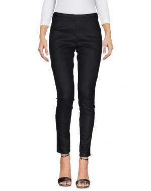 Джинсовые брюки MU. Цвет: черный