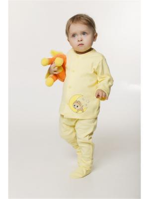 Кофточка ORANGE BABY. Цвет: светло-желтый, светло-бежевый