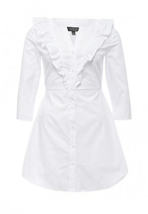 Платье Topshop. Цвет: белый