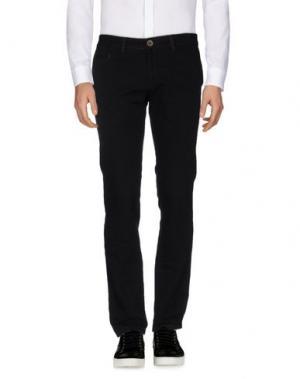 Повседневные брюки ALV ANDARE LONTANO VIAGGIANDO. Цвет: черный