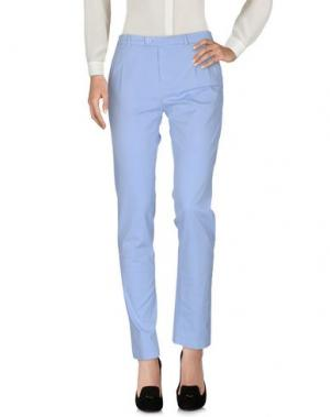 Повседневные брюки DANIELE ALESSANDRINI. Цвет: небесно-голубой