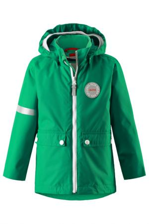 Комплект: куртка, жилет Reima. Цвет: зеленый
