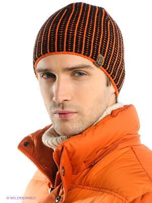 Шапка Ensis. Цвет: оранжевый, черный