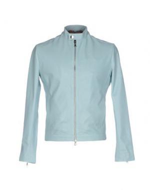 Куртка ROBERTO PEPE. Цвет: небесно-голубой