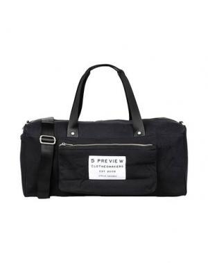 Дорожная сумка 5PREVIEW. Цвет: черный
