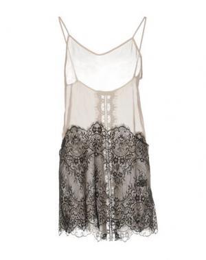 Короткое платье LOYD/FORD. Цвет: бежевый
