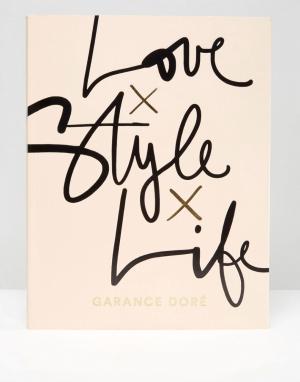 Books Книга Love x Style Life. Цвет: мульти