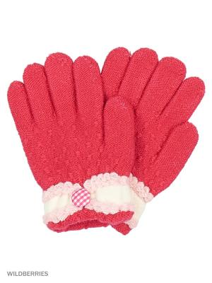 Перчатки Mini. Цвет: малиновый