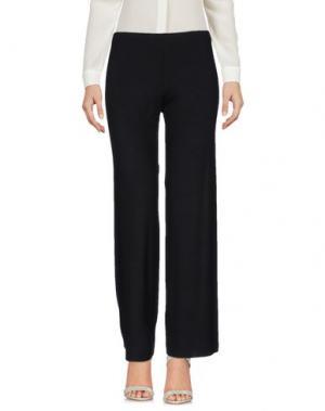 Повседневные брюки DELFINA. Цвет: черный