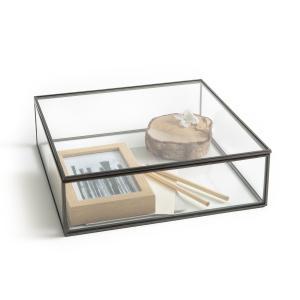Коробка-витрина, Ш30 x В9 Г30 см, Digori AM.PM.. Цвет: латунь,темно-серый металл