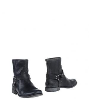 Полусапоги и высокие ботинки FRYE. Цвет: черный