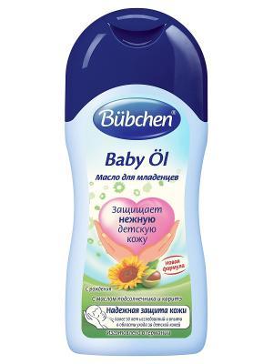 Масло для младенцев, 400 мл. Bubchen. Цвет: темно-синий
