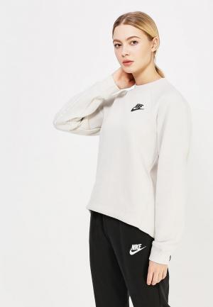 Свитшот Nike. Цвет: бежевый