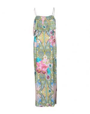 Длинное платье NAUGHTY DOG. Цвет: светло-розовый