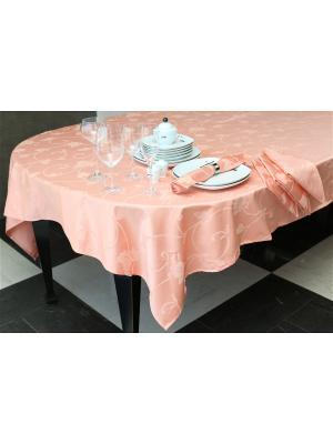 Скатерти ОТК. Цвет: персиковый