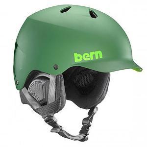 Шлем для сноуборда  Snow Eps Watts Leaf Matte Green/Black Liner Bern