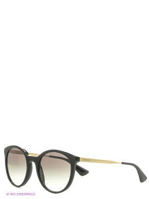 Солнцезащитные очки CINEMA PRADA. Цвет: черный