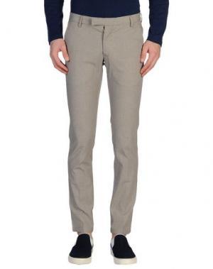 Повседневные брюки DOMENICO TAGLIENTE. Цвет: коричневый