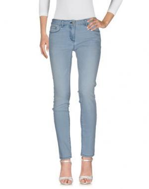 Джинсовые брюки STEFANEL. Цвет: синий