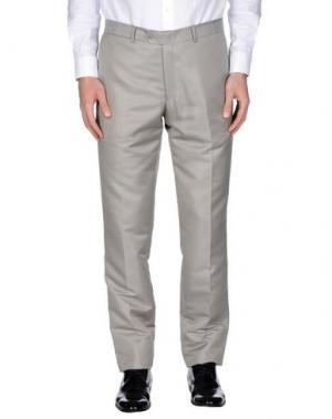 Повседневные брюки MAESTRAMI CERIMONIA. Цвет: светло-серый