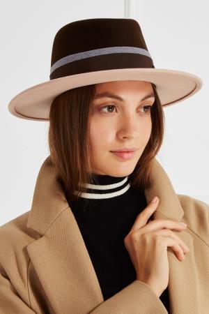 Фетровая шляпа Maison Michel. Цвет: none