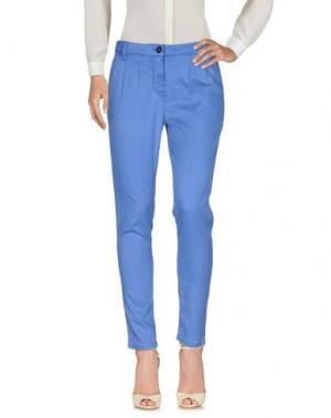 Повседневные брюки NINE:INTHE:MORNING. Цвет: пастельно-синий