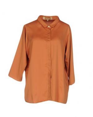 Pубашка BONSUI. Цвет: оранжевый