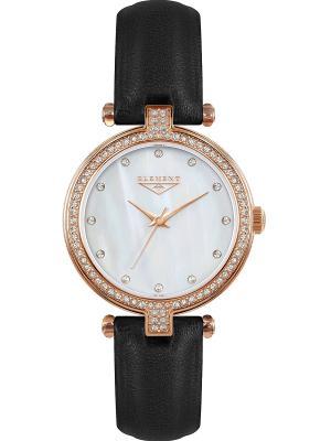 Часы 33 ELEMENT. Цвет: черный, розовый, золотистый
