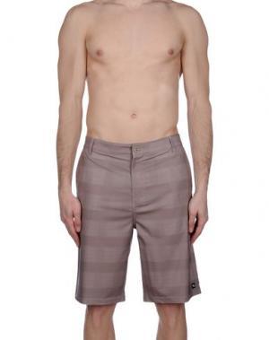 Пляжные брюки и шорты RIPCURL. Цвет: хаки