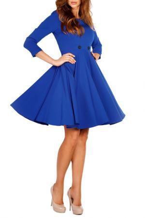 Платье LOU-LOU. Цвет: blue