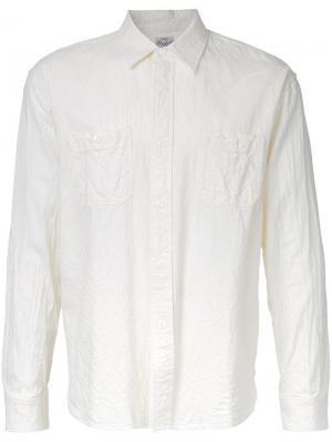 Рубашка с длинными рукавами Gold / Toyo Enterprise. Цвет: белый
