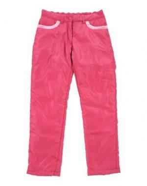 Повседневные брюки MONNALISA. Цвет: фуксия
