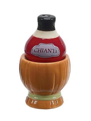 Wine & Cheese Chianti Набор солонка и перечница BOSTON. Цвет: коричневый