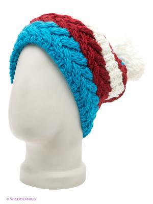 Шапка R.Mountain. Цвет: белый, синий, красный