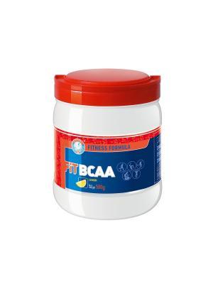 Fit BCAA (500 гр.) лимон (FITNESS FORMULA) Академия-Т. Цвет: красный