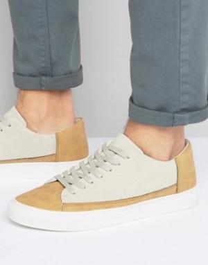 Systvm Бежевые низкие кроссовки. Цвет: бежевый