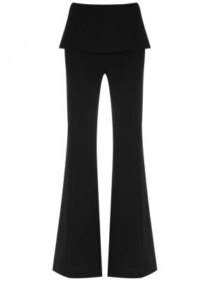 Panelled wide leg trousers Giuliana Romanno. Цвет: none