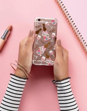 Skinnydip Чехол для iPhone 6/6s/7 True Love. Цвет: мульти